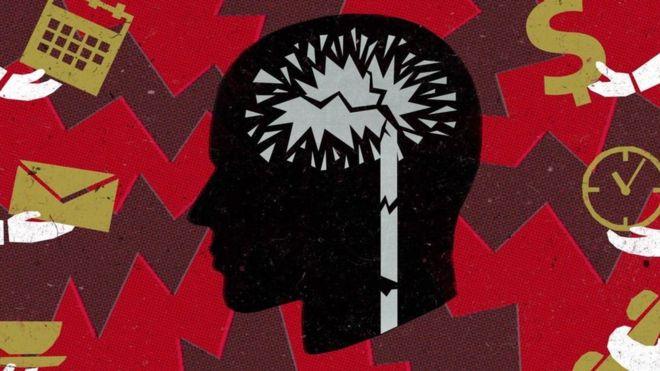 Ilustração de cérebro