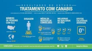 Tratamento à base de cannabis diminui convulsões epilépticas de Lennox-Gastaut pela metade