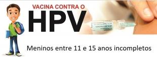 Vacina de HPV será ampliada para meninos de até 15 anos