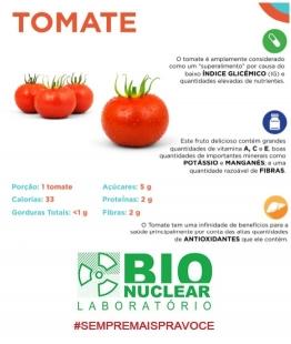 Entenda os benefícios do tomate