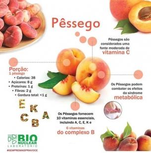 Entenda os benefícios do pêssego